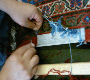 NYC area rug repair